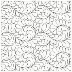 Digital Quilting Designs Free by From Three Fabric Abundant Feathers Interlocking E2e Arm Quilting Patterns