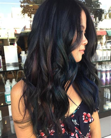 black hair with grey streaks on black 30 stunning ideas of black hair with highlights