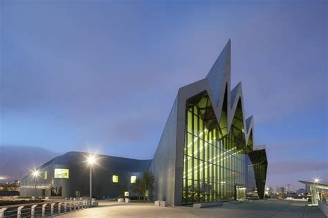 In Architecture Riverside Museum By Zaha Hadid Architects