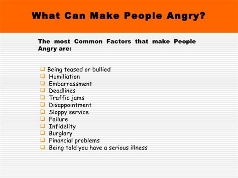 Emotional Detox Cause You To Get Mad At Friends by Anger