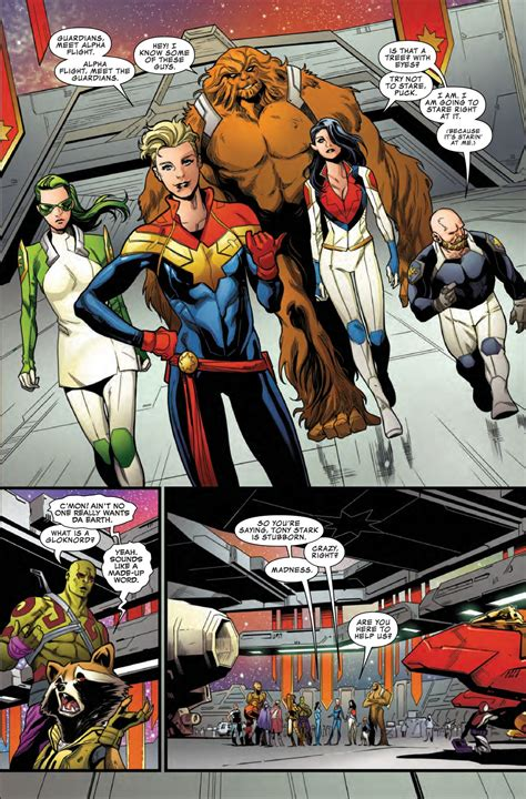 Guardian Of The Galaxy 11 preview guardians of the galaxy 11 comic vine