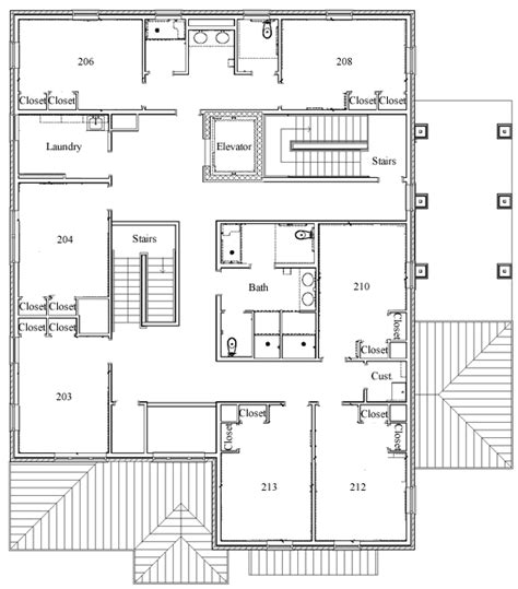 fraternity house floor plans fraternity housing william mary