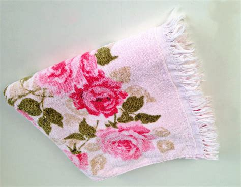 bath towels with roses vintage pink roses cotton bath towel