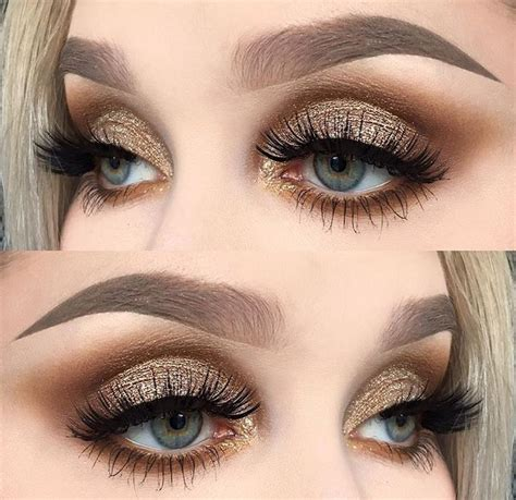 Eyeshadow Gold 17 best ideas about gold eye makeup on