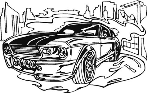 free drag race car coloring pages
