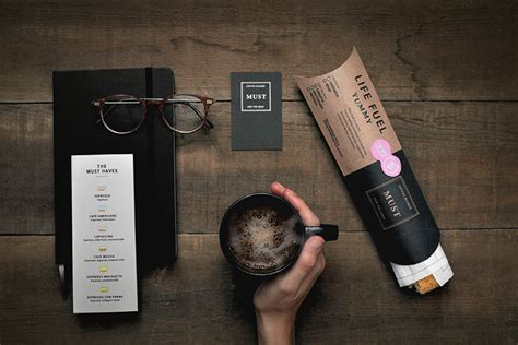 coffee shop branding design must coffee branding packaging by firmalt 187 retail