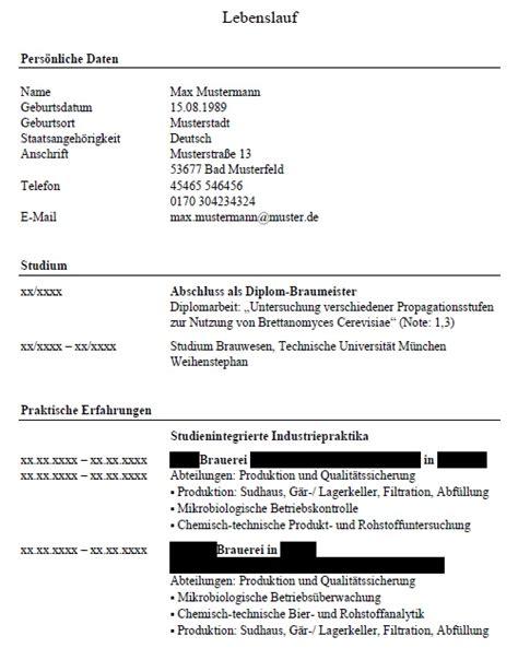 Lebenslauf Muster Ehrenamtliche Tätigkeit Einf 252 Der Praktischen T 228 Tigkeiten Im Cv