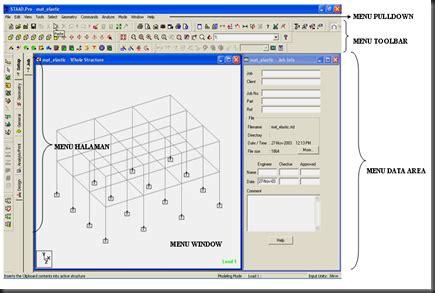 fungsi dari layout adalah yuk belajar staad pro kus teknik sipil