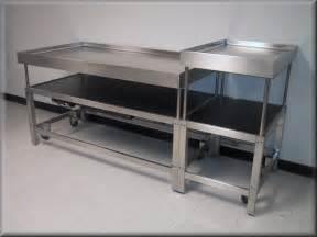Garage Shelf Design rdm stainless steel adjustable height table model a107p ss