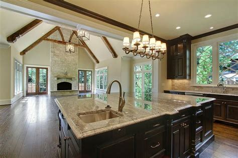 open kitchen great room floor plans kitchen great room layout love this this is what i want