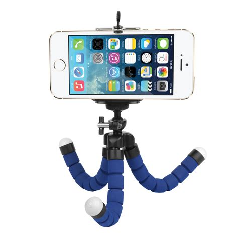 Tripod Lipat For Dslr Gopro Smartphone Fe046 3 mini sponge octopus tripod for iphone samsung xiaomi huawei mobile phone smartphone