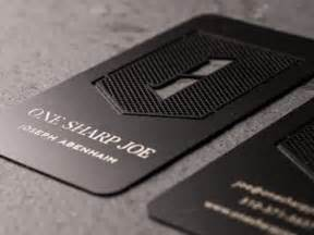 metal business cards 30 brilliant metal business cards