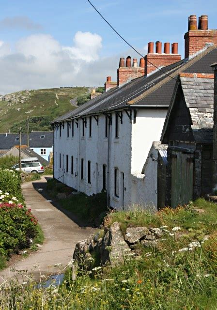 Cottages In Sennen by A Row Of Cottages In Sennen Cove 169 Tony Atkin Geograph