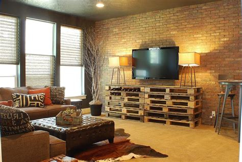 retro livingroom vintage style living room ideas diy pallet rectangular decorative shelf horses wall accessories