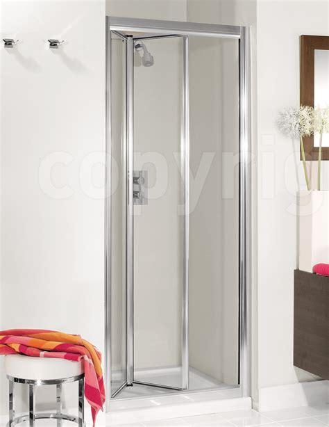 shower door bifold simpsons supreme silver framed 800mm plus bifold shower door
