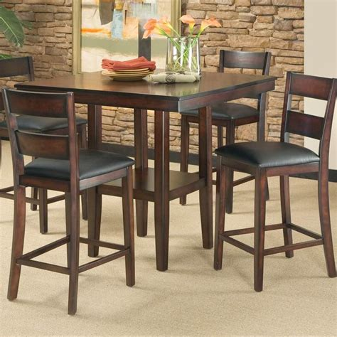counter height table and stools pendleton counter height pub table and stool set