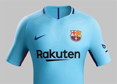 Jersey Barcelona Away 2017 fc barcelona away kit 2017 18 nike news