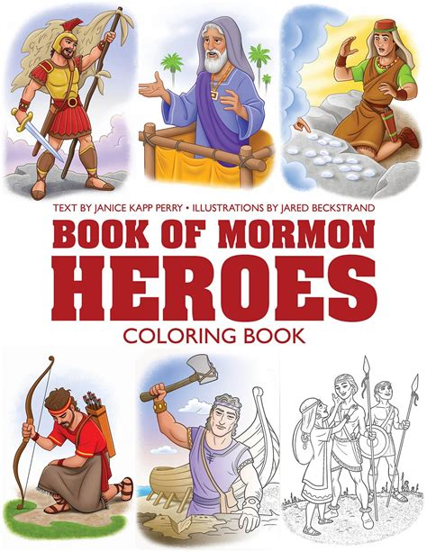 Book Of Mormon Heroes Coloring Book 9781524402679