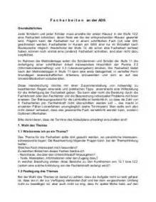 Bewerbung Formale Kriterien Hinweise Zur Facharbeit August Dicke Schule Oberstufe Facharbeit Vorgaben Gliederung 20080114