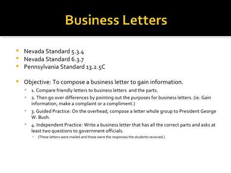 Business Letter Writing Slideshare business letters