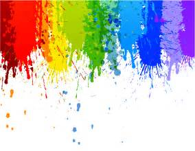 rainbow colour splash drip transparent background rainbow colours rainbow colors