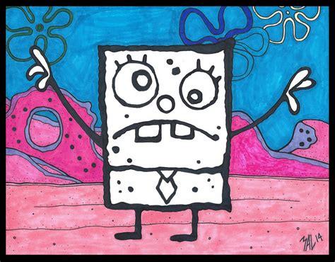 doodle spongebob doodlebob color by odditiesbyernie on deviantart