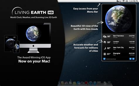 world clock wallpaper for mac living earth hd desktop weather world clock download