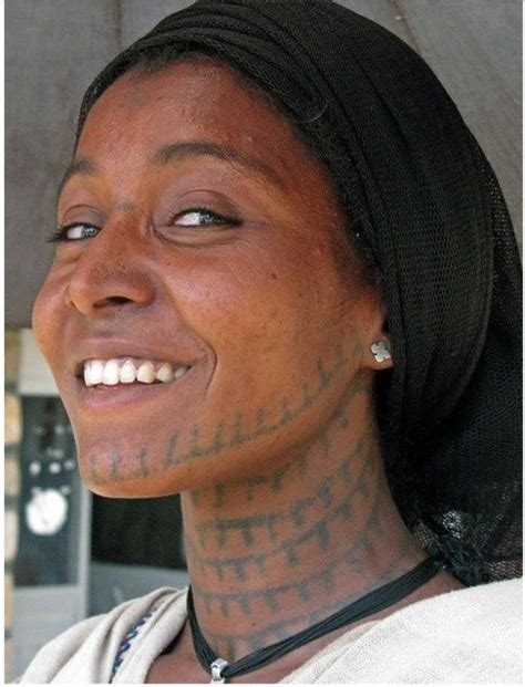 africa amhara tattoos of the world