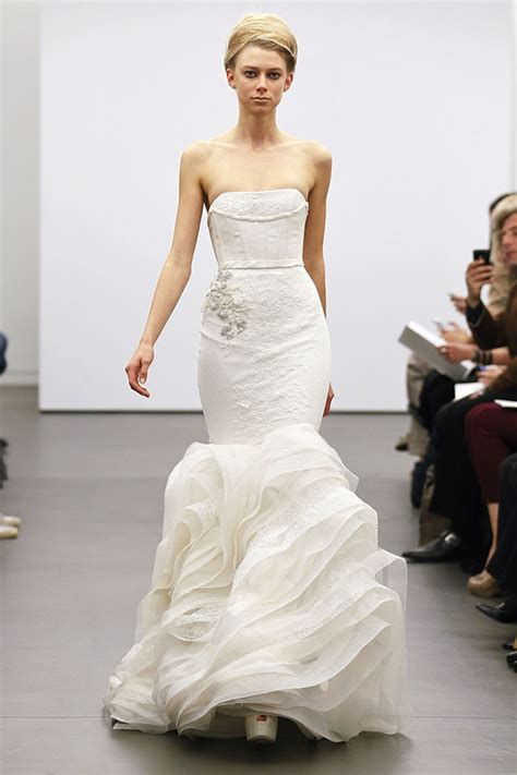 Most Fabulous Vera Wang Wedding Gowns Bridal Collection by Vera Wang Fall 2013 My Dress Of The Week The