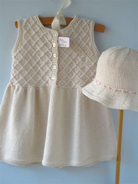 Handmade Baby Clothes Etsy - items similar to baby clothes handmade knit smock
