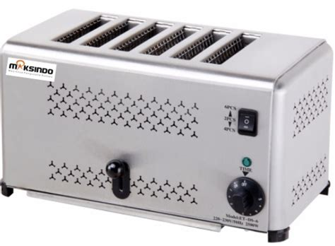 Toaster Roti jual mesin bread toaster roti bakar d06 di malang toko mesin maksindo di malang toko mesin