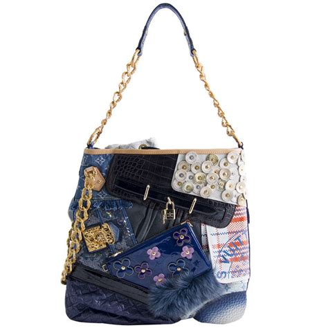Louis Vuitton Louis Vuitton Tribute Patchwork Bag by Louis Vuitton Tribute Patchwork Bag Limited Edition