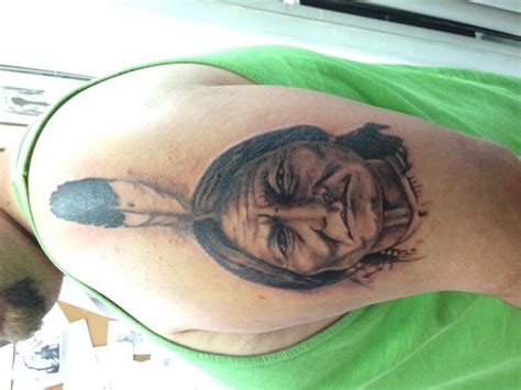 sitting bull tattoo 52 best tattoos by cbell images on
