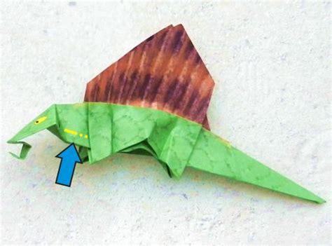 Origami Dimetrodon - origami dimetrodon 28 images joost langeveld origami
