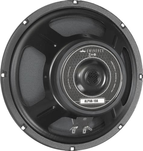 Speaker Subwoofer American speaker eminence 174 american 10 quot alpha 10a 150 watts antique electronic supply