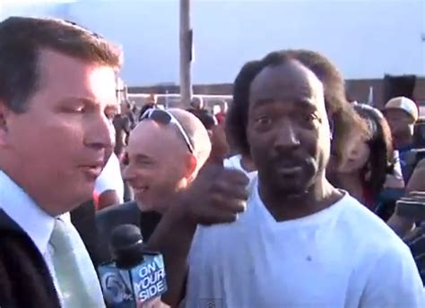 Charles Ramsey Dead Giveaway - this is the greatest tv interview of all time crossing broad