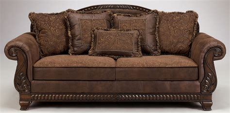 ashley couch bradington truffle sofa by ashley furniture tenpenny