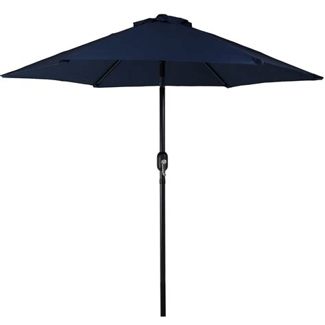 5 Ft Patio Umbrella Patio Market Umbrella W Tilt Crank 7 5 Foot Aluminum Colors Ebay