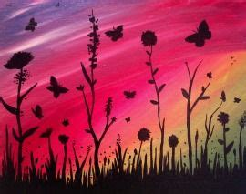 paint nite boston newbury 1000 ideas about butterfly painting on
