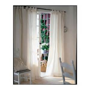 Window Curtains Ikea Brand New Ikea Lenda Curtains Window Drapes 55 Quot X 98 Quot White Beige Tie Back Ebay