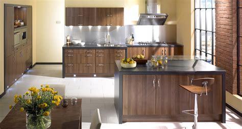 Contemporary Homes Designs Walnut Gullwing Kitchen Design Stylehomes Net