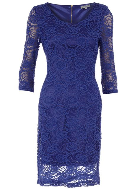 royal blue dresses alice you royal blue lace dress dorothy perkins