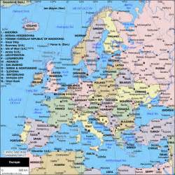 Europe Travel Map by Travel To Europe