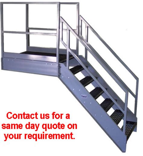 Platform Stairs Design Galvanized Stairs Metal Stairs Osha Prefab Stairways
