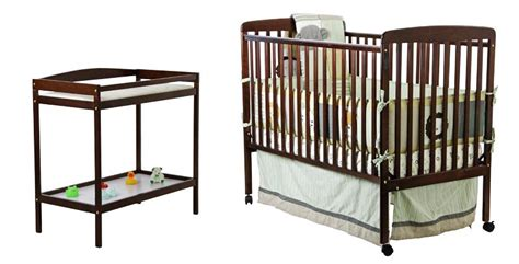 crib and mattress combo on me 2 in 1 size convertible crib and changing
