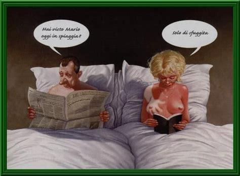 donne al letto uomo e donna nel letto raccontano la loro giornata