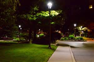 outdoor lighting solutions toronto s waterfront neighbourhood aglow philips