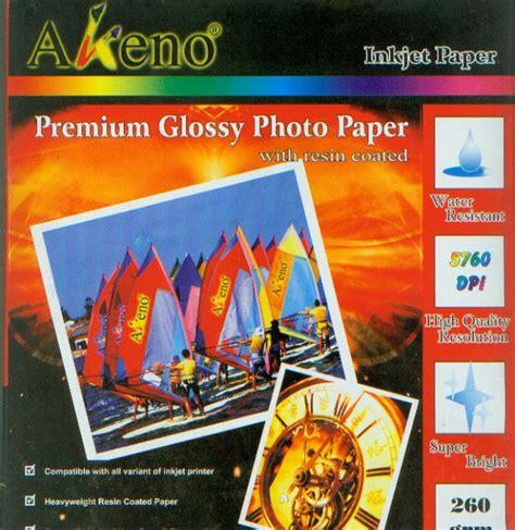 Dataprint Glossy Photo Paper 180gr inkjet photo paper spesialist daftar harga kertas foto