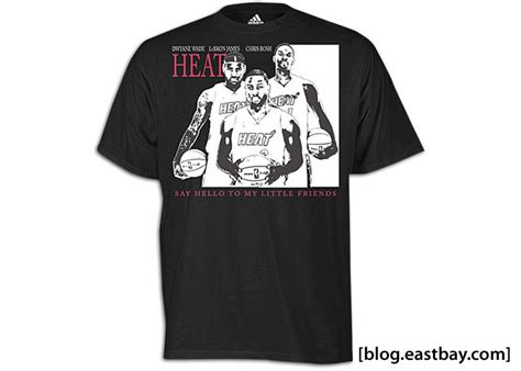 T Shirt Adidas Miami adidas miami heat shirts eastbay