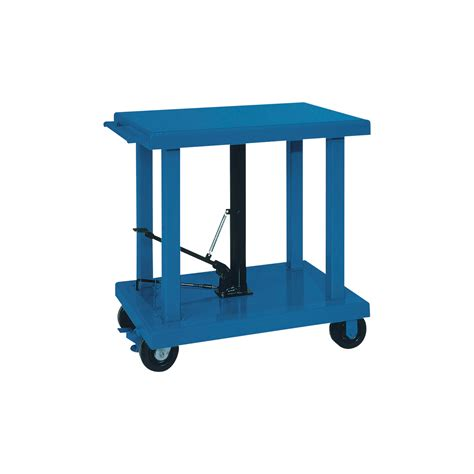 manual lift table wesco manual hydraulic lift table 6 000 lb capacity model 260069 hydraulic lift tables